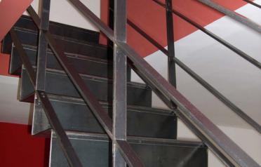 escalier métallique grenoble